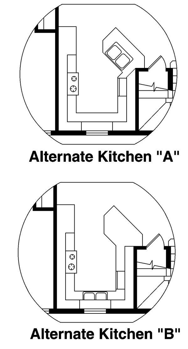 Home Plan - Traditional Floor Plan - Other Floor Plan #124-877
