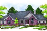 Traditional Style House Plan - 2 Beds 2 Baths 2216 Sq/Ft Plan #70-656 Exterior - Front Elevation