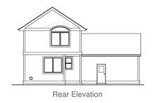 House Plan Design - Craftsman Exterior - Rear Elevation Plan #53-597