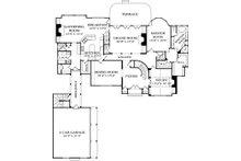 European Floor Plan - Main Floor Plan Plan #453-26