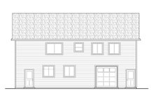 Architectural House Design - Traditional Exterior - Other Elevation Plan #124-1197