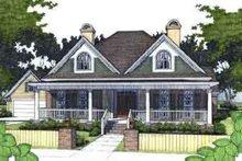 Farmhouse Exterior - Front Elevation Plan #120-149