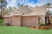 Craftsman Style House Plan - 4 Beds 2.5 Baths 2641 Sq/Ft Plan #430-155 Exterior - Other Elevation