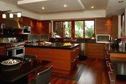 Modern Style House Plan - 4 Beds 4.5 Baths 5555 Sq/Ft Plan #420-172 Interior - Kitchen