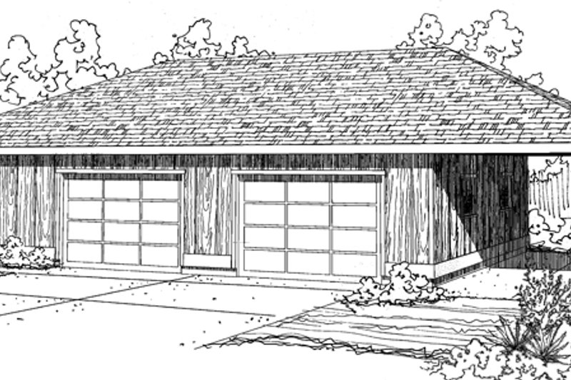 House Plan Design - Traditional Exterior - Front Elevation Plan #124-895