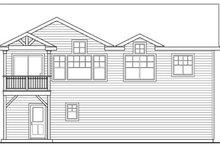 Dream House Plan - Craftsman Exterior - Rear Elevation Plan #124-825
