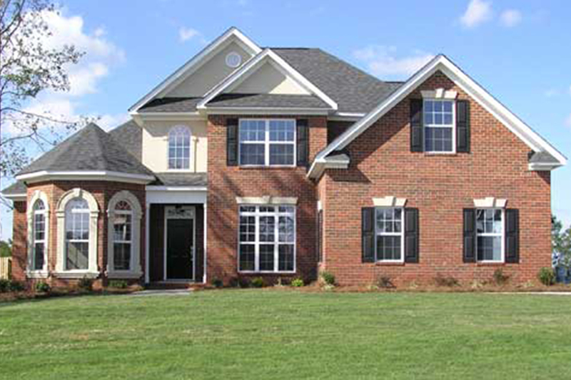 Traditional Exterior - Front Elevation Plan #927-28 - Houseplans.com