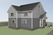 Southern Style House Plan - 3 Beds 2 Baths 2558 Sq/Ft Plan #79-242 Exterior - Other Elevation
