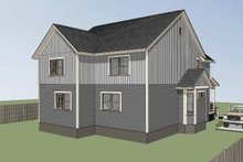 Southern Exterior - Other Elevation Plan #79-242
