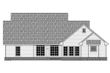 Dream House Plan - Country Exterior - Rear Elevation Plan #21-379