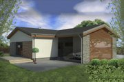 Modern Style House Plan - 2 Beds 1 Baths 838 Sq/Ft Plan #906-14 Exterior - Front Elevation