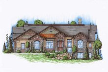 Home Plan - Traditional Exterior - Front Elevation Plan #5-302