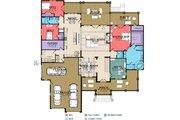 Craftsman Style House Plan - 5 Beds 2 Baths 5835 Sq/Ft Plan #63-422 Floor Plan - Main Floor