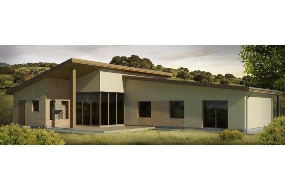 Modern Exterior - Front Elevation Plan #906-26