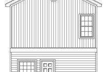Contemporary Exterior - Rear Elevation Plan #932-158
