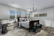 Craftsman Style House Plan - 3 Beds 2.5 Baths 2438 Sq/Ft Plan #1060-65 Interior - Master Bedroom
