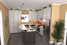 Dream House Plan - Country Interior - Kitchen Plan #21-459