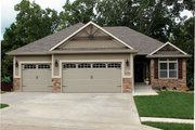 Ranch Style House Plan - 3 Beds 2 Baths 1642 Sq/Ft Plan #20-1869 Exterior - Front Elevation