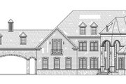 European Style House Plan - 4 Beds 4.5 Baths 3302 Sq/Ft Plan #119-432 Exterior - Front Elevation