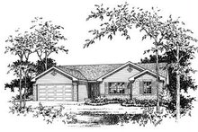 Architectural House Design - Ranch Exterior - Other Elevation Plan #22-523