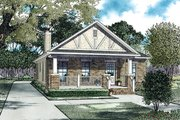 Cottage Style House Plan - 2 Beds 2 Baths 1309 Sq/Ft Plan #17-2471 Exterior - Front Elevation