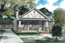 House Plan Design - Cottage Exterior - Front Elevation Plan #17-2471