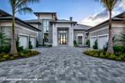 Contemporary Style House Plan - 5 Beds 5.5 Baths 7466 Sq/Ft Plan #930-513 Exterior - Front Elevation