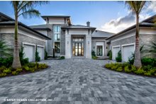 Home Plan - Contemporary Exterior - Front Elevation Plan #930-513