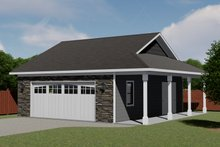 Dream House Plan - Country Exterior - Front Elevation Plan #1064-51
