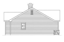 Dream House Plan - Cottage Exterior - Other Elevation Plan #22-607