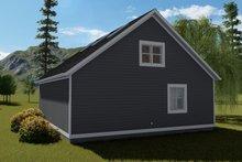 House Plan Design - Traditional Exterior - Rear Elevation Plan #1060-86