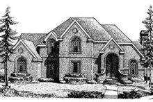 Dream House Plan - European Exterior - Front Elevation Plan #410-231