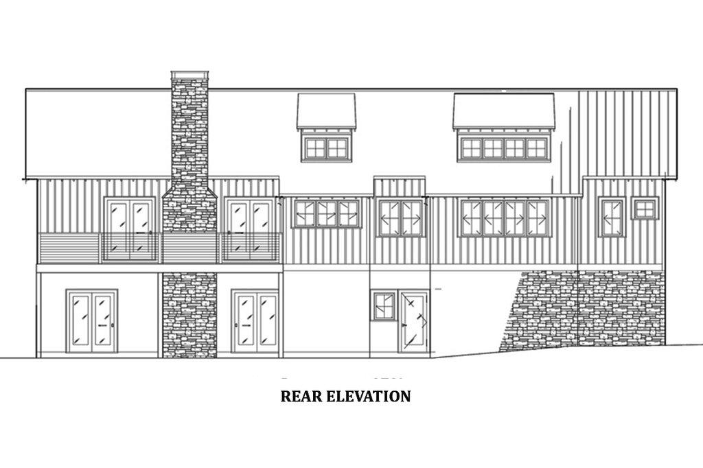 farmhouse style house plan - 3 beds 2 5 baths 1981 sq  ft plan  923-63