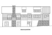 Farmhouse Exterior - Rear Elevation Plan #923-63