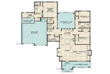 European Floor Plan - Main Floor Plan Plan #923-167