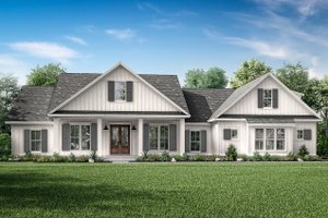 Craftsman Exterior - Front Elevation Plan #430-201