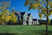 Dream House Plan - Colonial Exterior - Other Elevation Plan #48-151