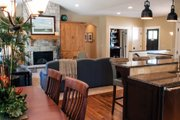Ranch Style House Plan - 3 Beds 2.5 Baths 3588 Sq/Ft Plan #928-2 Interior - Family Room