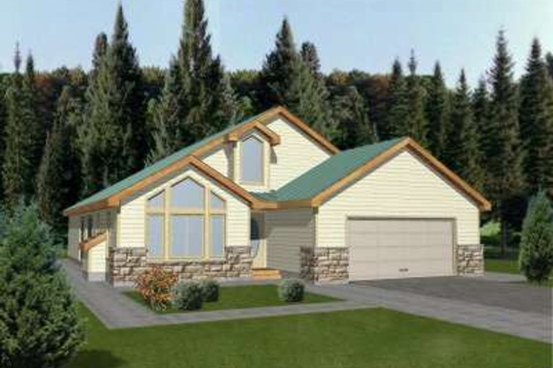 Traditional Exterior - Front Elevation Plan #117-333