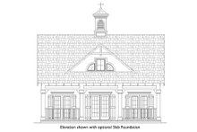 Beach Exterior - Front Elevation Plan #45-215