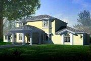 Adobe / Southwestern Style House Plan - 5 Beds 4 Baths 3488 Sq/Ft Plan #1-835