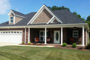 Traditional Style House Plan - 2 Beds 2 Baths 1340 Sq/Ft Plan #932-143 Exterior - Front Elevation