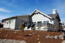 House Plan Design - Craftsman Exterior - Rear Elevation Plan #434-21