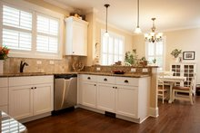Craftsman Interior - Kitchen Plan #461-18