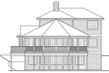 Beach Exterior - Other Elevation Plan #124-1094