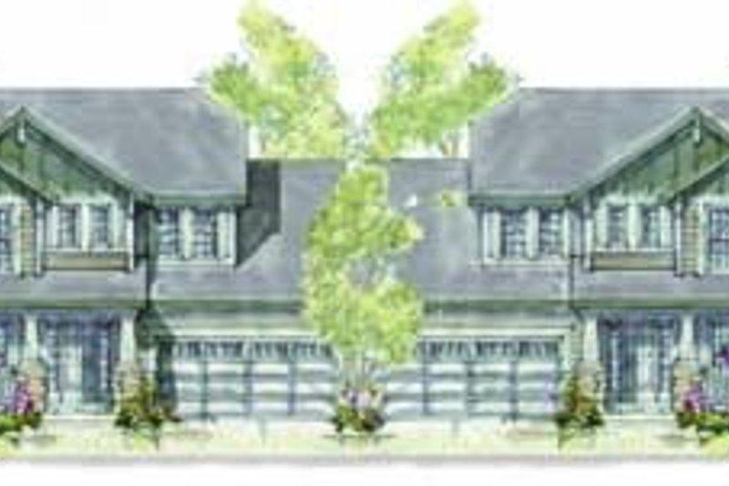 Architectural House Design - Cottage Exterior - Front Elevation Plan #20-1347