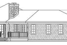 Home Plan - Craftsman Exterior - Other Elevation Plan #124-408