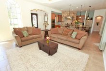 Dream House Plan - Mediterranean Interior - Family Room Plan #80-151