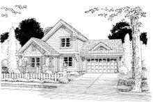 Craftsman Exterior - Other Elevation Plan #513-2054