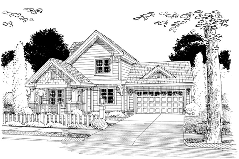 Craftsman Exterior - Other Elevation Plan #513-2054 - Houseplans.com